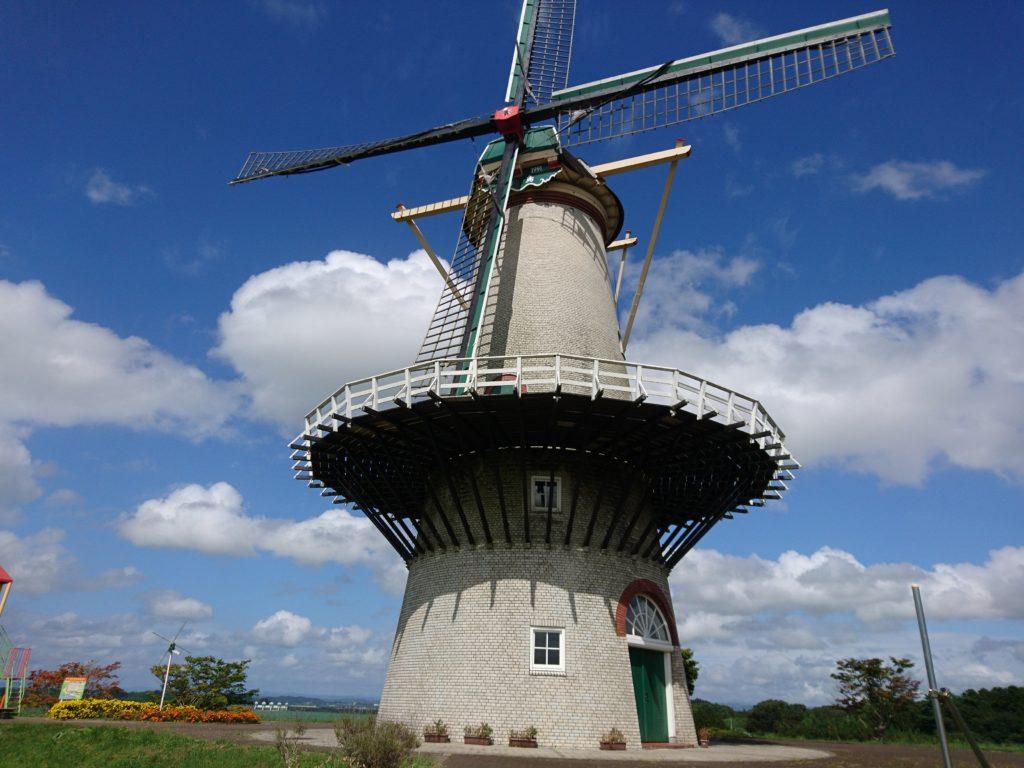長沼フートピア公園オランダ風車